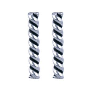 925 zilver l Twister 1.7 x 10mm