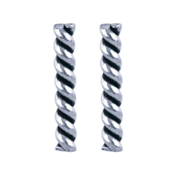 925 zilver l Twister 1.7 x 10mm
