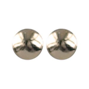 925 zilver l Dot gold plated 3.0mm